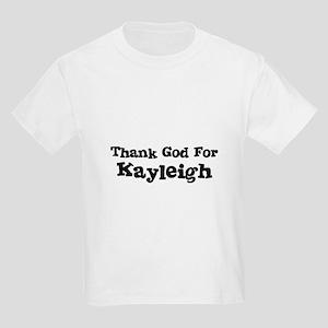 Thank God For Kayleigh Kids T-Shirt