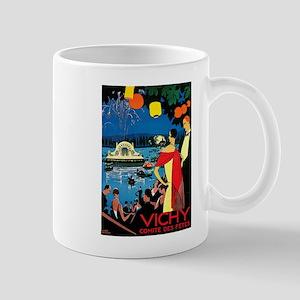 Vintage Vichy Comite des Fetes Mug