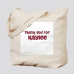 Thank God For Kaylee Tote Bag