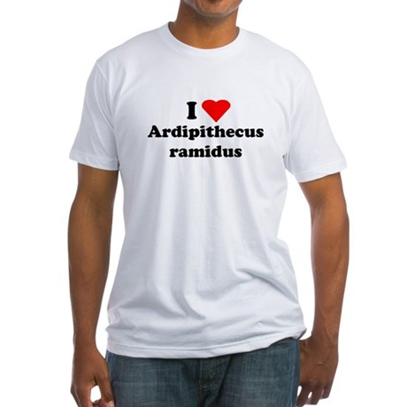 Ardipithecus ramidus Fitted T-Shirt