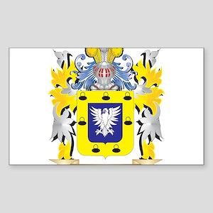Sanchez Family Crest - Coat of Arms Sticker