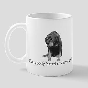 Rottie's New Trick Mug