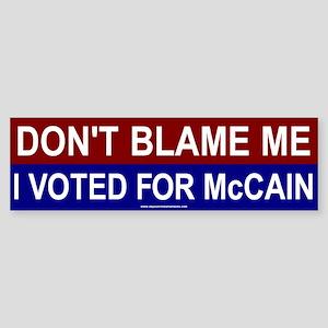 4-blame Bumper Sticker