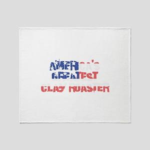 America's Greatest Clay Roaster Throw Blanket