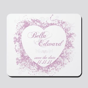 Bella & Edward Purple Vines Mousepad