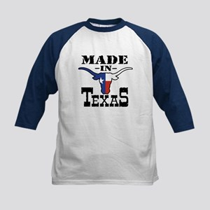 Made In Texas Kids Baseball Jersey
