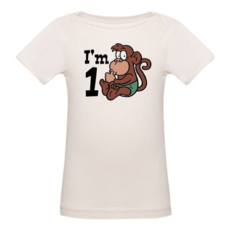 Cute One Year Old Organic Baby T-Shirt