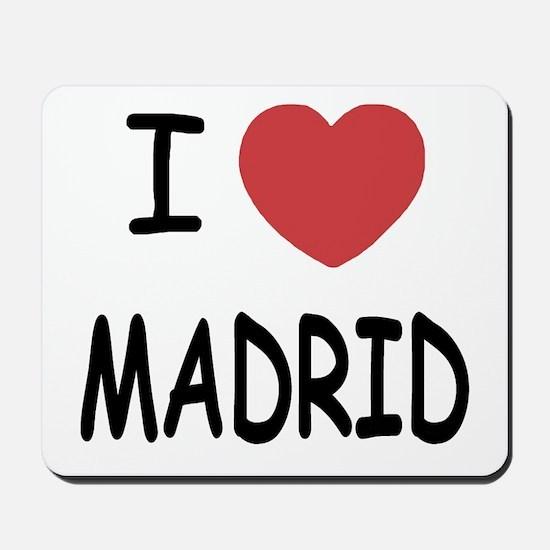 I heart Madrid Mousepad