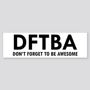 DFTBA Sticker (Bumper)