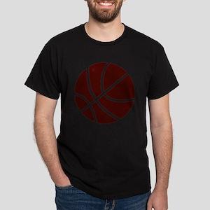 BASKETBALL *2* {crimson} Dark T-Shirt