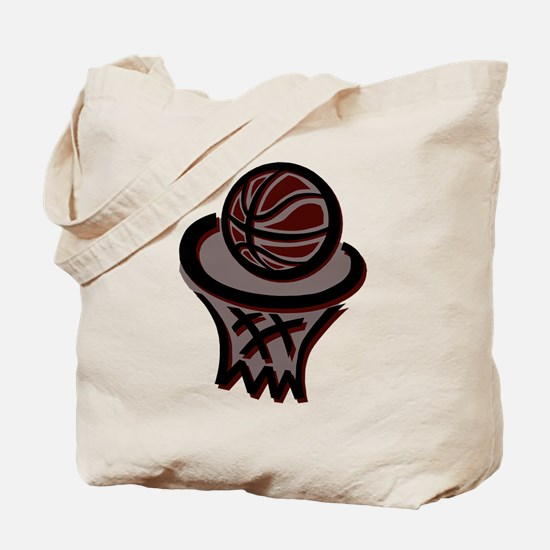 BASKETBALL *3* {crimson} Tote Bag
