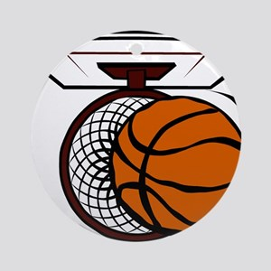 BASKETBALL *4* Ornament (Round)