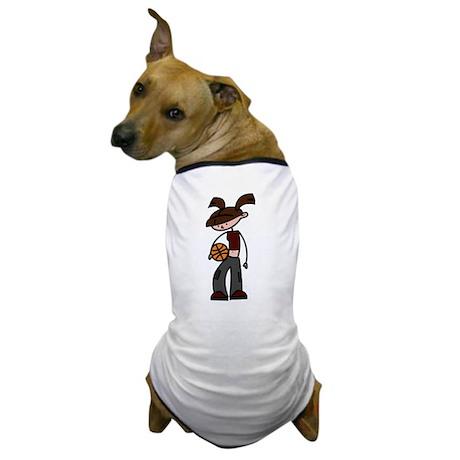 BASKETBALL *5* {crimson} Dog T-Shirt