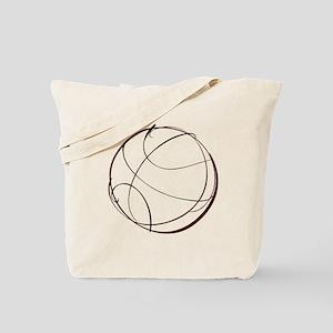 BASKETBALL *9* {crimson} Tote Bag