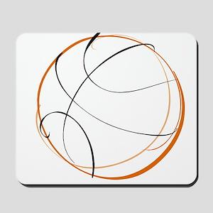 BASKETBALL *9* {orange} Mousepad