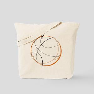 BASKETBALL *9* {orange} Tote Bag