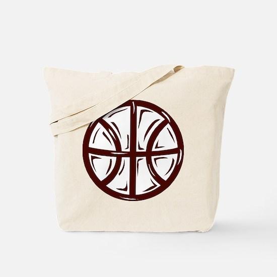 BASKETBALL *11* {crimson} Tote Bag