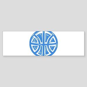 BASKETBALL *12* {blue} Sticker (Bumper)
