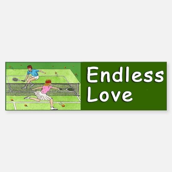 """""""ENDLESS LOVE"""" Sticker (Bumper)"""