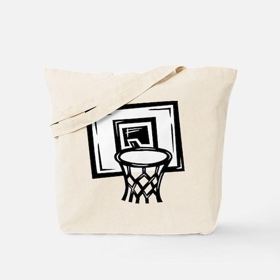 BASKETBALL *14* {black} Tote Bag