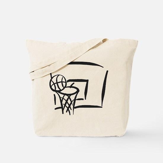 BASKETBALL *18* {gray} Tote Bag