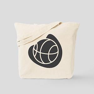 BASKETBALL *20* {gray} Tote Bag