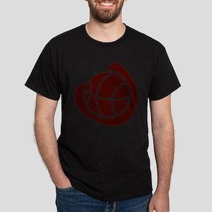 BASKETBALL *20* {crimson} Dark T-Shirt