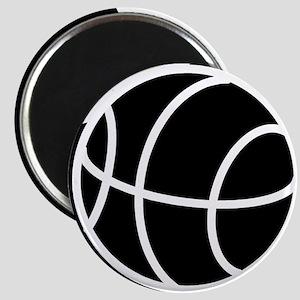 BASKETBALL *20* {black} Magnet