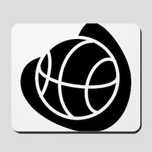 BASKETBALL *20* {black} Mousepad