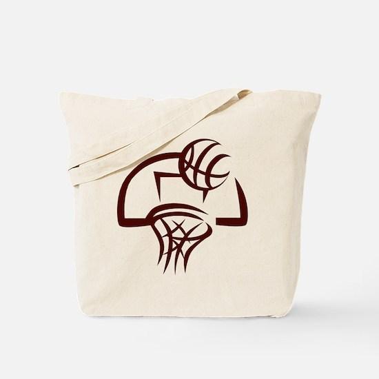 BASKETBALL *24* {crimson} Tote Bag