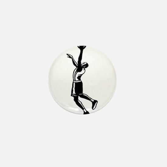 BASKETBALL *27* {black} Mini Button