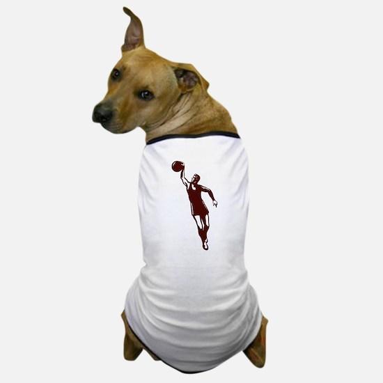 BASKETBALL *28* {crimson} Dog T-Shirt
