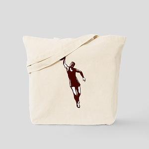 BASKETBALL *28* {crimson} Tote Bag
