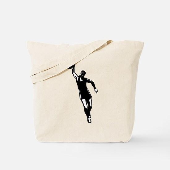 BASKETBALL *28* {black} Tote Bag