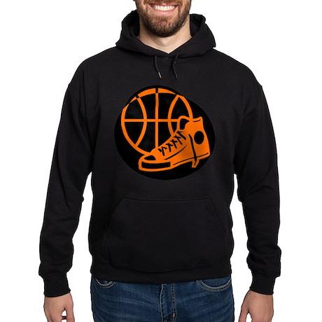 BASKETBALL *32* [orange} Hoodie (dark)