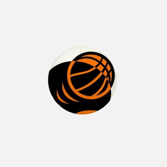 BASKETBALL *33* {orabge} Mini Button