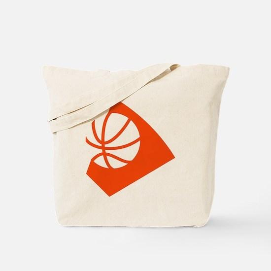 BASKETBALL *34* {orange} Tote Bag