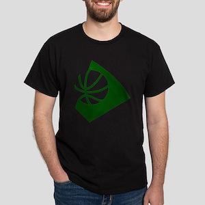BASKETBALL *34* {green} Dark T-Shirt