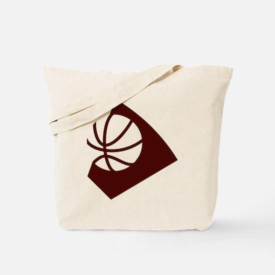 BASKETBALL *34* {crimson} Tote Bag