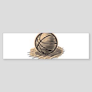 BASKETBALL *36* Sticker (Bumper)