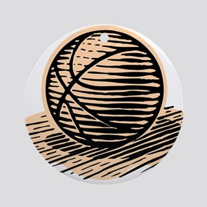 BASKETBALL *36* Ornament (Round)