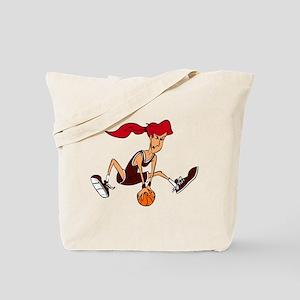 BASKETBALL *37* {crimson, red Tote Bag