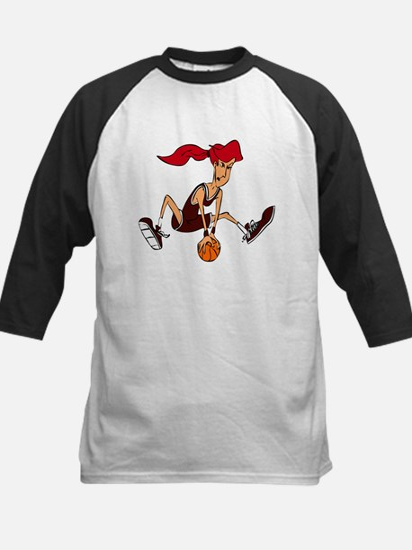 BASKETBALL *37* {crimson, red Kids Baseball Jersey