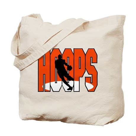 HOOPS *1* {orange} Tote Bag