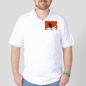 HOOPS *1* {orange} Golf Shirt