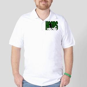 HOOPS *1* {green} Golf Shirt
