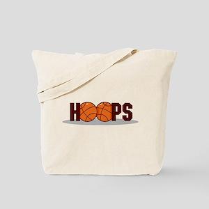 HOOPS *2* {crimson} Tote Bag