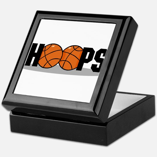 HOOPS *2* {black} Keepsake Box