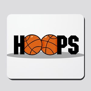 HOOPS *2* {black} Mousepad