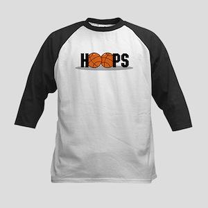 HOOPS *2* {black} Kids Baseball Jersey